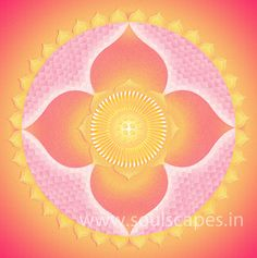 Lotus Mandala Giclee Art Canvas Print by soulscapes on Etsy, $24.00