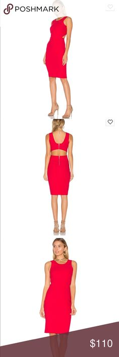 NWT Elizabeth and James Emmy dress In the beautiful cardinal red. NWT. Size 8. Perfect for Valentine's Day! Elizabeth and James Dresses