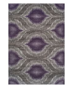 Take a look at the Plum Mod Rug on #zulily today!