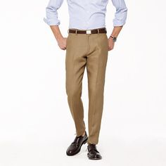 Ludlow Classic Suit Pant in Irish Linen from J.Crew