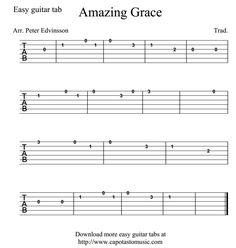 Good easy guitar tabs!!