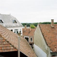 Roof Tops Fine Art Photography Hungary by siobhanphotography