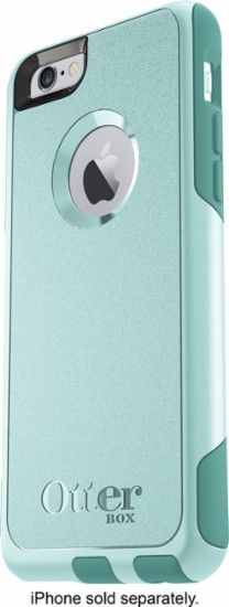 OtterBox - Commuter Series Case for Apple® iPhone® 6 and 6s - Aqua Sky - Front Zoom