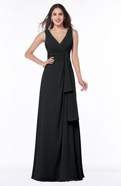 c5c2766e2ce Olive Green Bridesmaid Dress - Vintage Empire Short Sleeve Zipper Chiffon  Floor Length Long