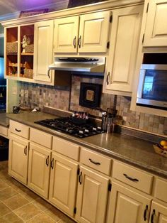 Kitchen Cabinets Makeover with Milk Paint Milk paint General