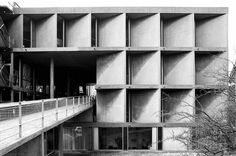 THE CARPENTER CENTER by LE CORBUSIER (1962) / The Carpenter Centre for Visual Arts is situated at Harvard University in Cambridge, Massachusetts and is the only building designed by Le Corbusier in the United States.