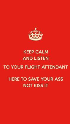 I hope people are listening... #crewlife #sassystewrants