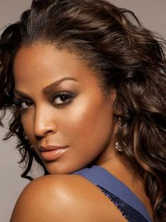 Laila Ali Intelligent, Courageous, Powerful and Beautiful! Beautiful Black Girl, Gorgeous Women, Beautiful People, Laila Ali, Black Actresses, Black Celebrities, Celebs, Perfect Skin, African Beauty