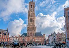 Belfort, Brugge, België. My Belgium Collection   Bruges, Brujas, Plaatsen, Places, Fotografie, Photography, Foto, Photo, België, Belgium, Belgique.