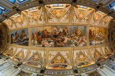 Soffitto della Sala degli Specchi - Palazzo Ducale di Mantova