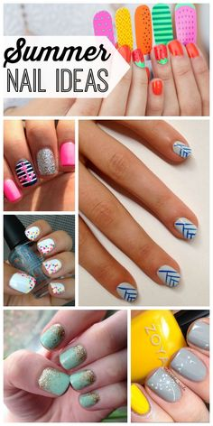 10 summer nail ideas that will make your manicure way more fun. #5 is so cute!