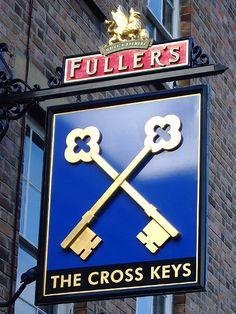 The Cross Keys - Pub Sign