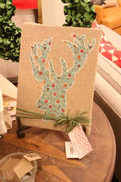 Could use any fabric. Any pic,animal, lettering, flowers, stars ,etc. cut out pic .sew or glue down. Frame or glue to canvas! so cute!!
