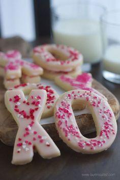 XO Valentine Sugar Cookies