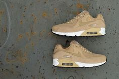 01f86733ee Nike Air Max 90 | Beige/Black/White | Womens Trainers [921304-200] #Nike  #Lifestyle