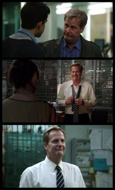 The Newsroom S1E7. Doped Jeff Daniels is adorable! :D