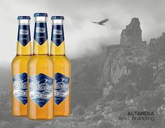 """Check out new work on my @Behance portfolio: """"Altanera - Sardinian Beer // Branding Project"""" http://be.net/gallery/46373091/Altanera-Sardinian-Beer-Branding-Project"""
