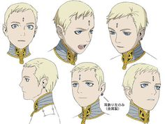 Lucciola from Last Exile Character Design Girl, Character Design Animation, Character Design References, Character Drawing, Character Design Inspiration, Character Illustration, Character Concept, Concept Art, Last Exile