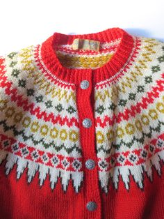 Reserved for Tina Lulle Otterstad Norwegian Cardigan by JackpotJen
