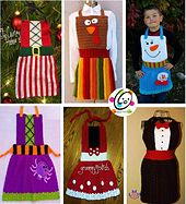 Ravelry: Snappy Apron for kids and adults pattern by Heidi Yates