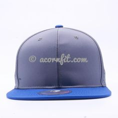 2c59f2fc029 Perforated Snapback Hats Wholesale  Royal Grey