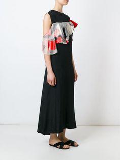 Toga платье с лоскутными оборками