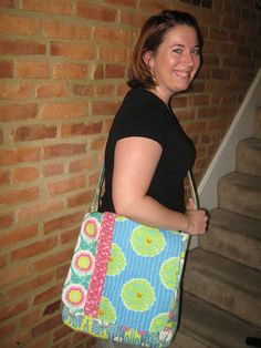 THE MADISON BAG Two Peas in a Pod Purse Pattern NEW