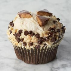 Peanut Butter Cup Cupcake- Crumbs Bakery