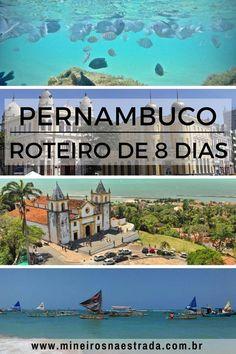 Roteiro de 8 dias por Recife, Olinda e Porto de Galinhas, com bate-volta para a Praia dos Carneiros. Um roteiro leve para qualquer idade. #mineirosnaestrada #pernambuco #olinda #recife #portodegalinhas #praiadoscarneiros #praia #viagem