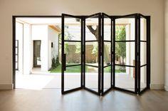 Millennium Line - Durango Doors Acordian Doors, Bi Fold Doors Internal, Casa Loft, Folding Doors, Sliding Glass Door, Glass Doors, Patio Doors, Entry Doors, Windows And Doors
