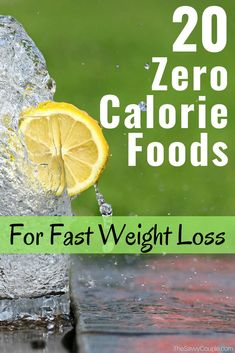 These zero calorie foods are AMAZING! I never knew how many delicious options I had to eat when trying to lose weight. I am so glad I found this zero calorie food list. Totally pinning this! 0 Calorie Foods, Low Calorie Snacks, Healthy Snacks, Healthy Eating, Fat Foods, Eating Clean, Healthy Recipes, Healthy Food To Lose Weight, Healthy Diet Plans