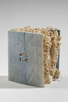 Knitted Book by Aimee Lee #paper_crafting #book_art
