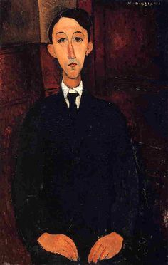 Manuel Humberg Esteve 1916   Amedeo Modigliani   Oil Painting #modglianipaintings