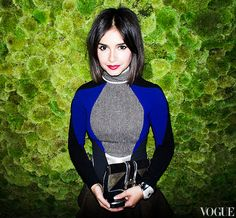 The Fabulous Miroslava Duma  the super glam former Harper's Bazaar Russia editor and current freelance writer.