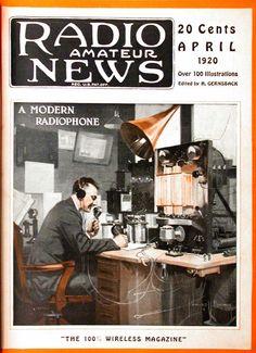 RADIO AMATEUR NEWS, 1920