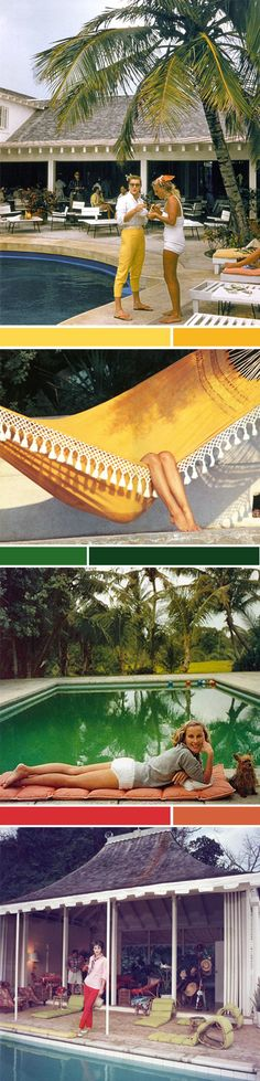 Slim Aarons: WASP to the hilt. Slim Aarons Prints, Jane Birkin, Better Day, Wasp, Palm Springs, Savannah Chat, Pools, Vintage Photos, Life Is Good
