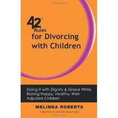 42 Rules for Divorcing With Children offers practical ways to manage a healthy divorce, build a better team in two houses, minimize stress and anxiety on all fronts, and construct relationships with open and consistent communication.  Use this self help book as objective advice, refer to it often, share it with others, use it as a reality check, and realize that divorce is not linear and that damage is not permanent or irreparable.