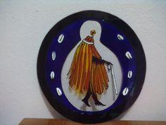 Mandala en vidro 3mm, com 30cm de diâmetro, arte em verniz vitral. Sob encomenda. Consulte outros tamanhos. R$ 70,00