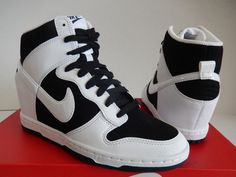 timeless design 71a1a 04e6b NIKE DUNK SKY HI HIGH ESSENTIAL BLACK WHITE SHOES 644877 007  original   forsale