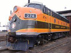 Locomotive Great Northern Railway (US).