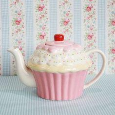 (via Cupcake teapot- Cath Kidston style | Cath Kidston and Greengate 'styl…)