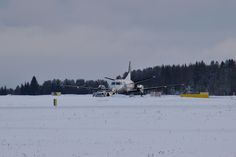 DSC_0114B | by arto häkkilä Finland, Aircraft, Snow, Outdoor, Outdoors, Aviation, Planes, Outdoor Games, The Great Outdoors