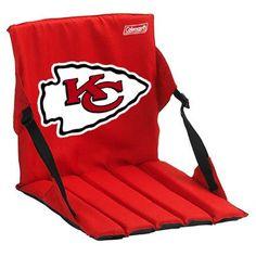 Kansas City Chiefs Team Logo Bleacher Cushion - Red