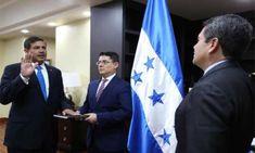 Exjefe militar jura como secretario de Defensa de Honduras