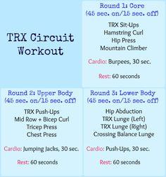 TRX Circuit Workout – Anna – TRX Thursday