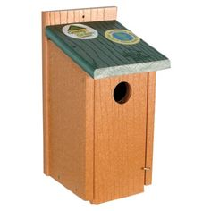 Birdhouses  Woodlink NAGGBB Audubon Going Green Bluebird House Backyard -- This is an Amazon Associate's Pin. Details on product can be viewed on the website by clicking the image.