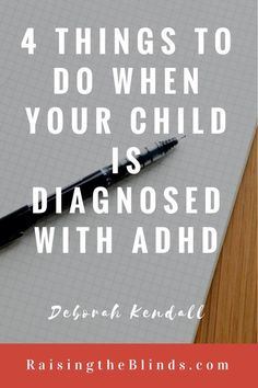 If your child has recently been screened and professionals have explained that he or she has ADHD, it is an emotional day.  No parent wants a child to struggle or have to travel a different journey…