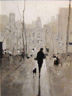 Geoffrey Johnson. amigo fiel  - lluvia