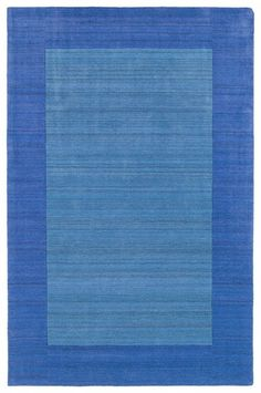 @Rosenberry Rooms is offering $20 OFF your purchase! Share the news and save!  Solid Border Rug in Glacier #rosenberryrooms
