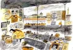Graphic novelist William Goldsmith on Vignettes of Ystov - gallery